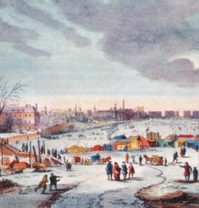 Thomas Wyke 1683-4 Frost Fair