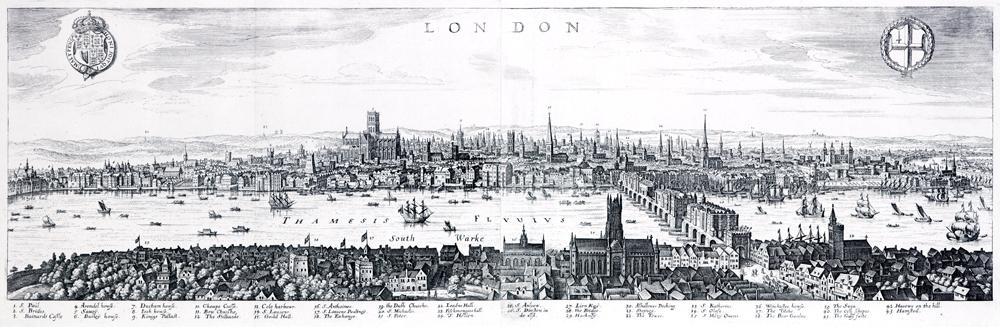 Claes Jansz Visscher 1616 Londres
