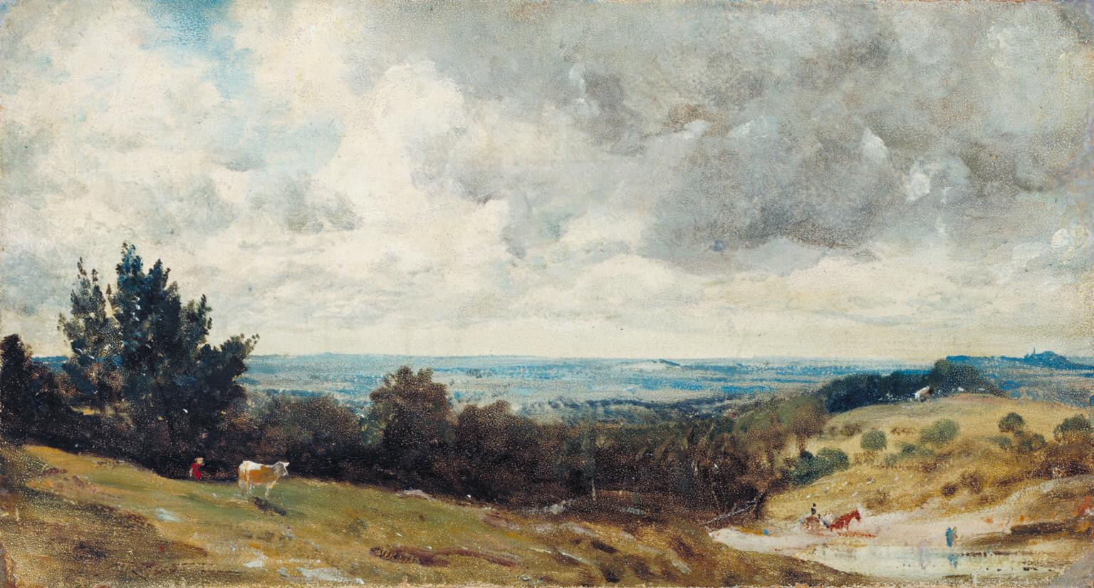 Hampstead Heath John Constable 1820