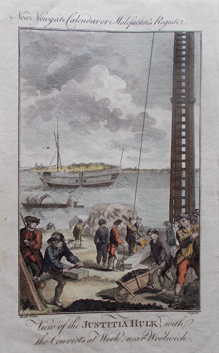 L'épave pénitentiaire Justitia pontons