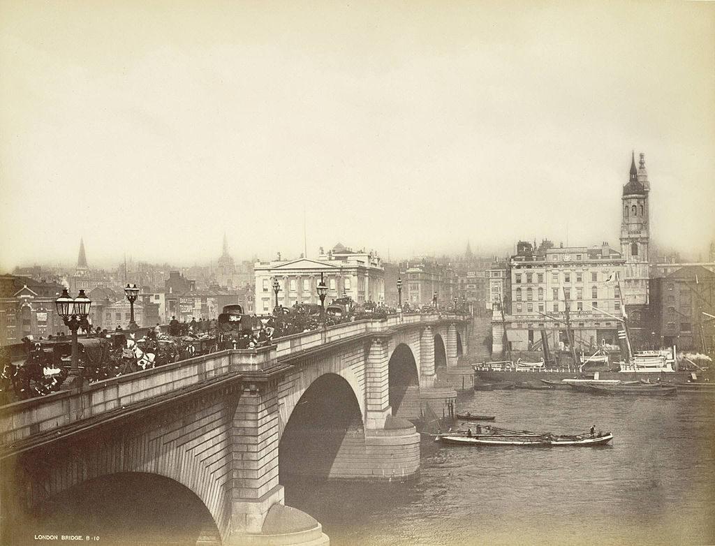 New London Bridge fin du 19e siecle