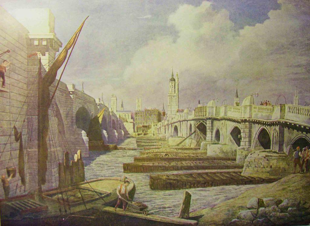 Old London Bridge et New London Bridge