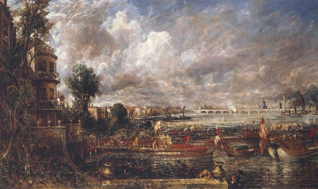 L'ouverture du pont de waterloo John Constable 1817