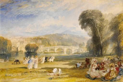Le Pont de Richmond par JMW Turner, c. 1828.