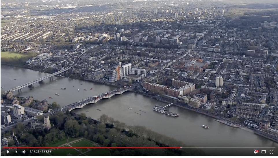 Boat Race Oxford Cambridge 2017 Putney Mortlake