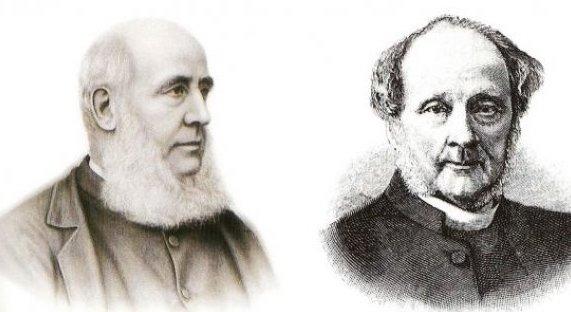 Les 2 fondateurs de la Boat Race