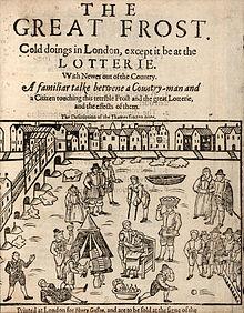 La première Frost Fair, en 1608.