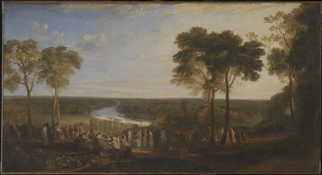 Richmond Hill on the Prince Regent's Birthday, 1819, William Turner