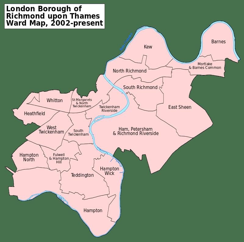 richmond upon thames arrondissement londres