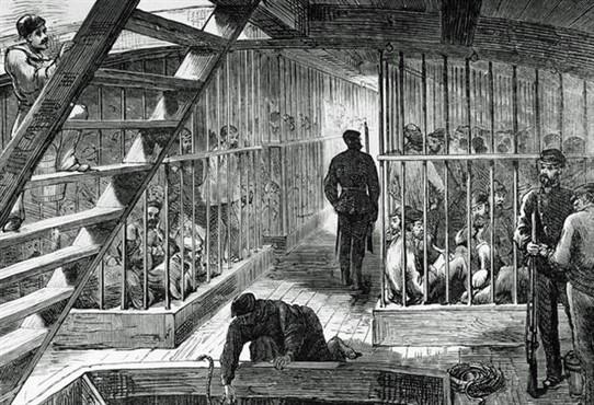 transport de prisonniers vers l Australie bagne