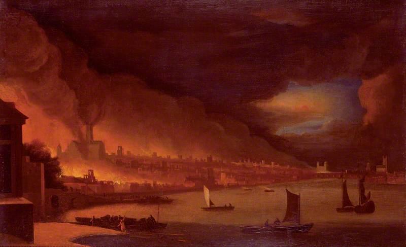 waggoner le grand incendie de Londres 1666