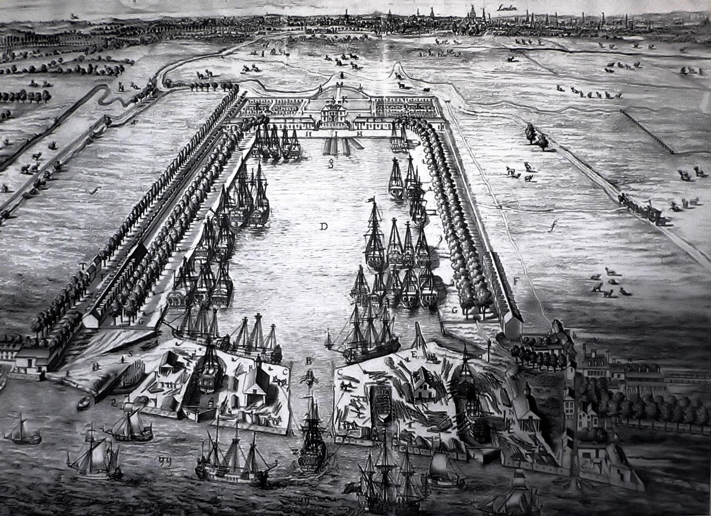 Greenland Dock Londres