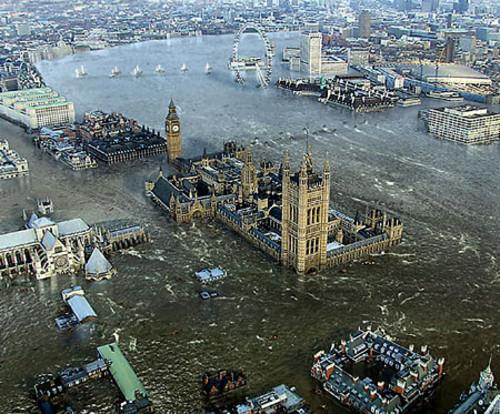 amplitude des marées Image extraite de Flood London amplitude