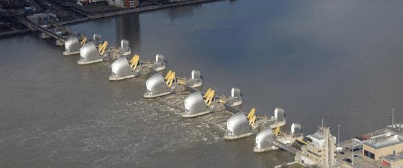 Thames Barrier marées Tamise