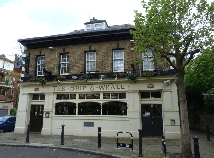 The Ship and Whale pub Londres