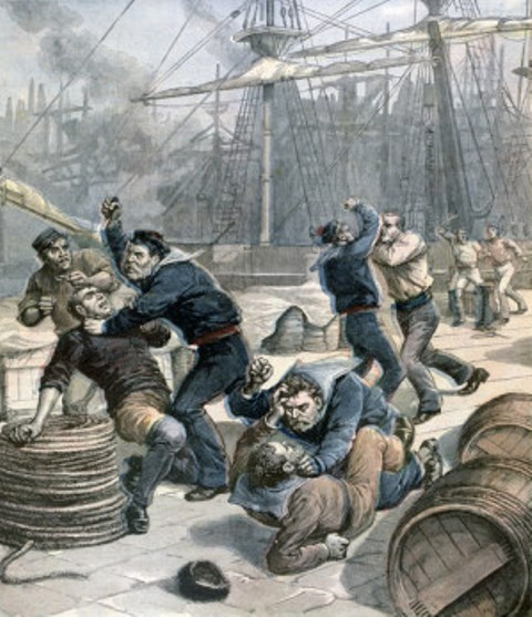 bagarres entre marins sailortown