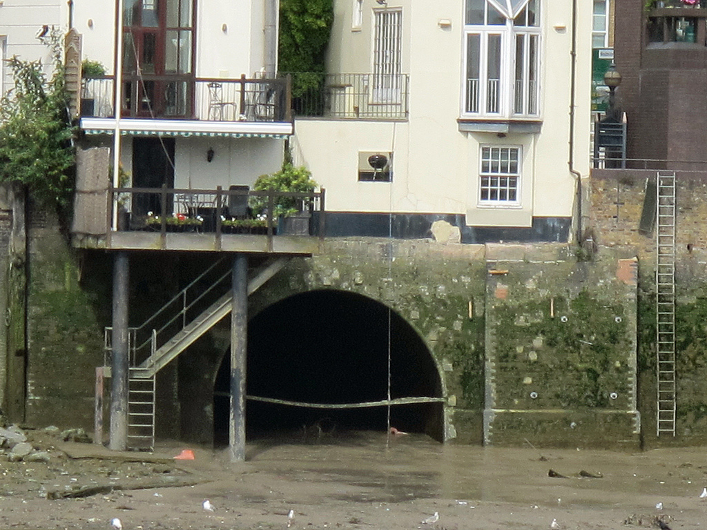 embouchure de la riviere Tyburn Pimlico affluents Tamise