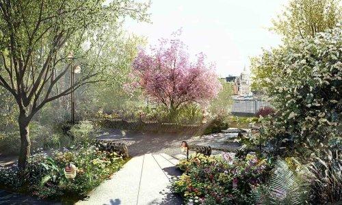 le garden bridge en ete