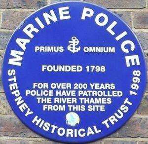 police marine tamise