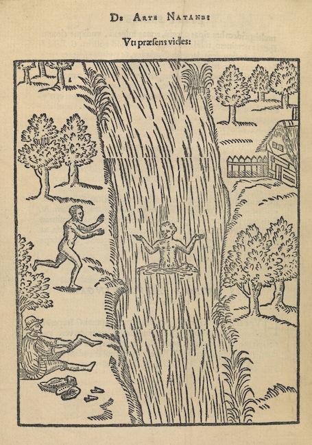 the art of swimming 1587 l art de nager