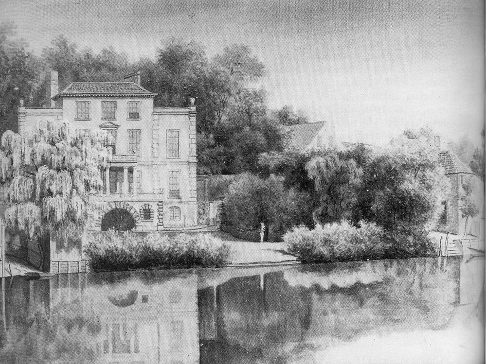 villa Alexander Pope Twickenham saule