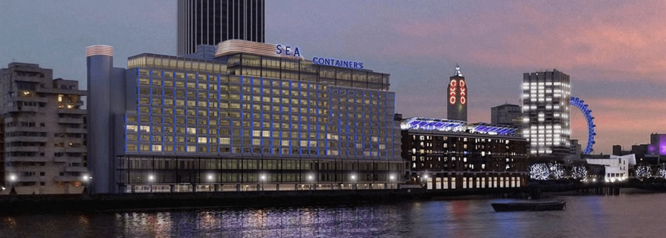 sea containers hotel sur la tamise