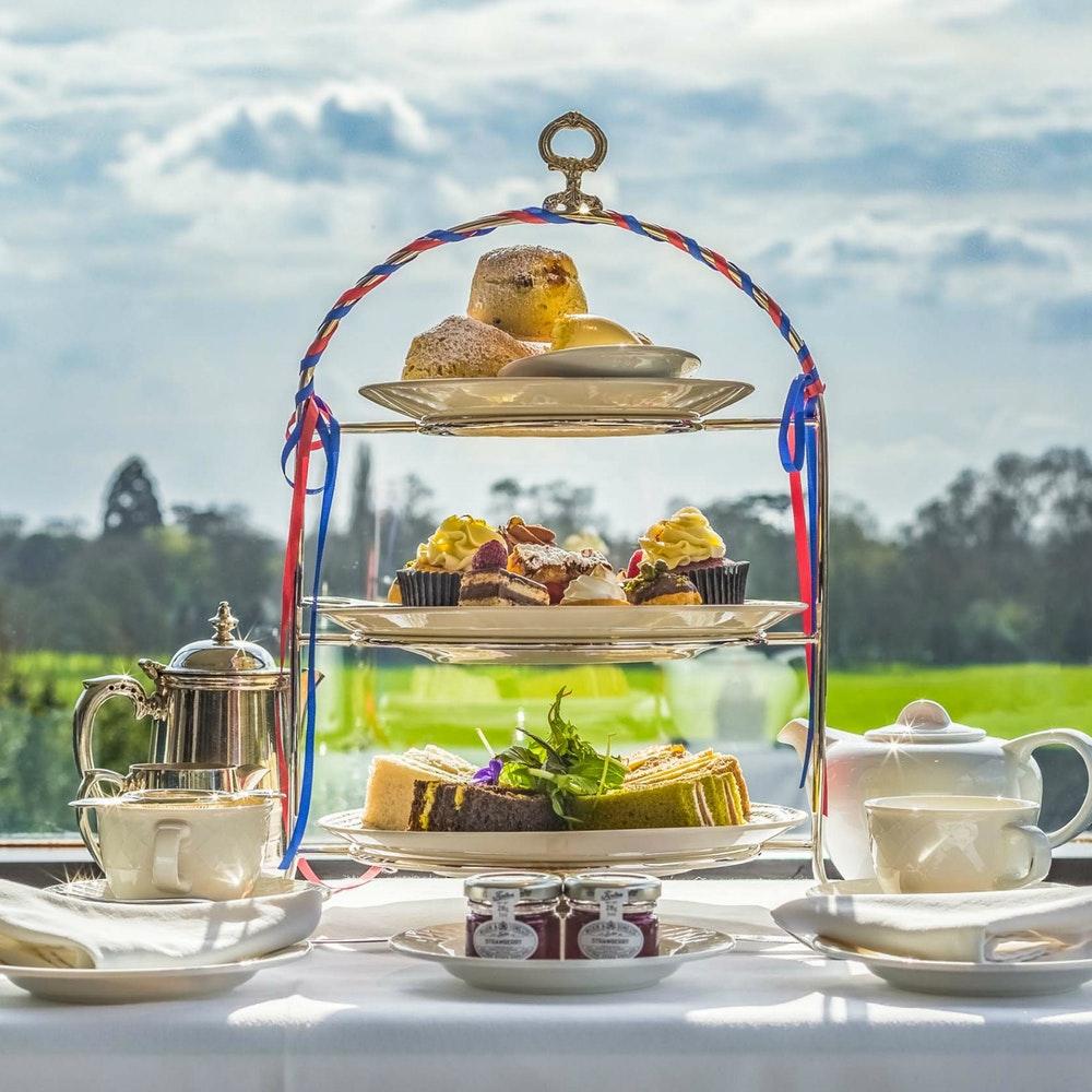 afternoon tea petersham hotel richmond tamise