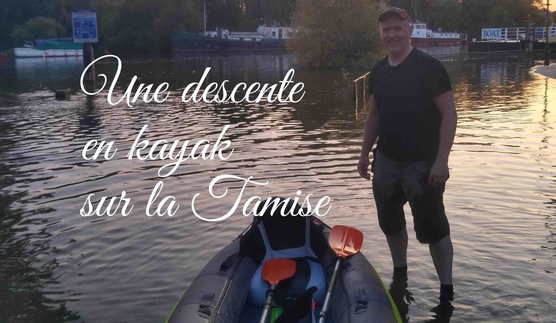 Une sortie en kayak sur la Tamise