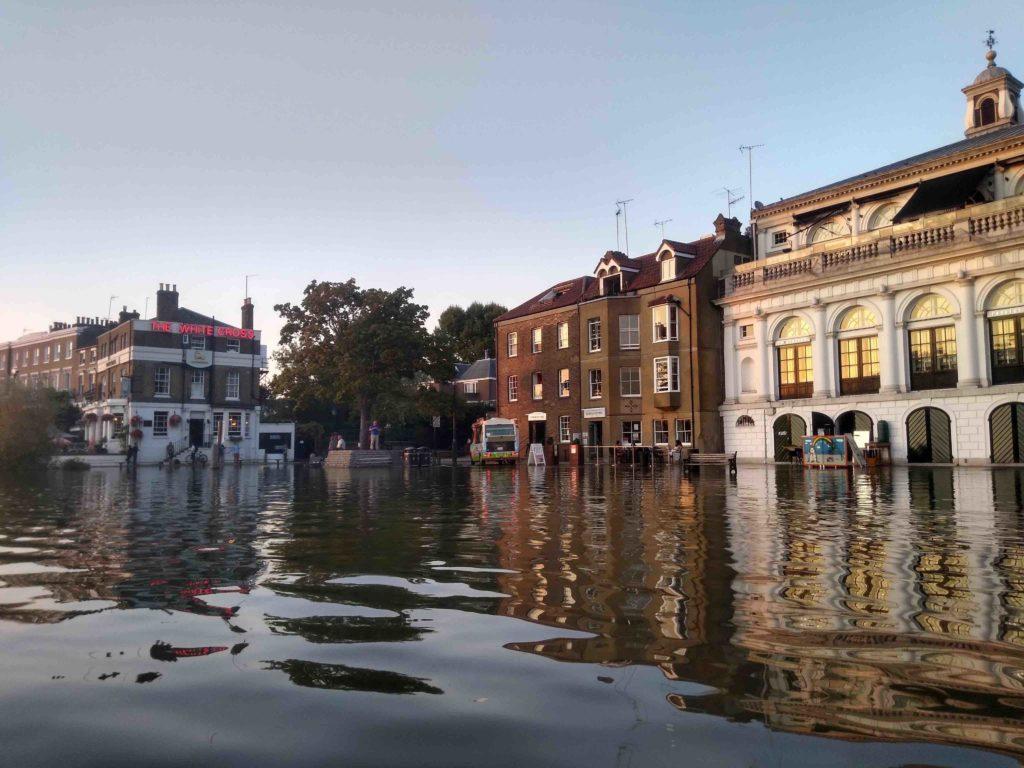 richmond inondation marée